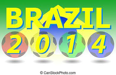brazília, világ, 2014., csésze
