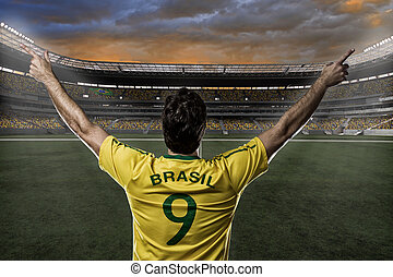 brazíliai, futball játékos