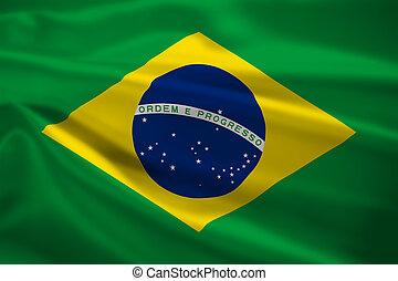 brazil 旗, 吹乘風