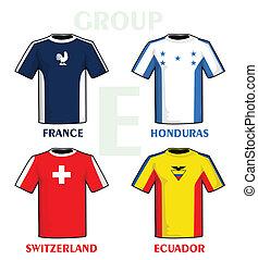 Brazil 2014 group E