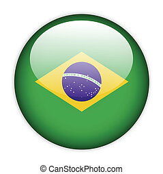 Brazil flag button