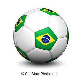 Brazil Football Soccer Ball