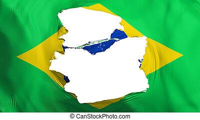 brazil läßt, zerfetzt