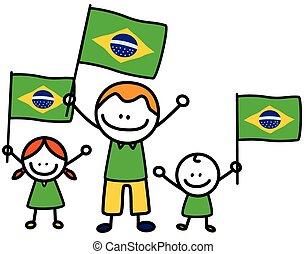 brazil lobogó