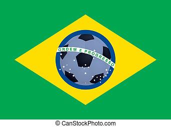 brazil lobogó, labdarúgás