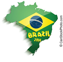 Brazil map 2014