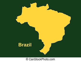 Brazil map, brazil