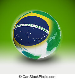 Brazil on the world