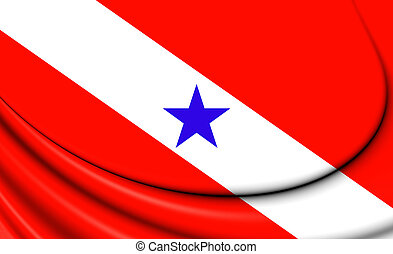 brazil., para, 旗