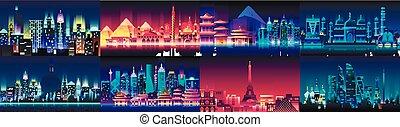 Brazil Russian France, Japan, India, Egypt China USA city...