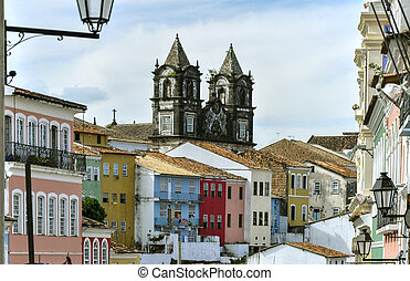 Brazil, Salvador de Bahia, Pelourinho - Pelourinho, district...