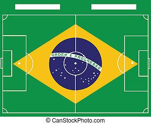 brazil soccer field