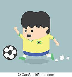 Brazil soccer player