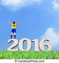 Brazil soccer player man