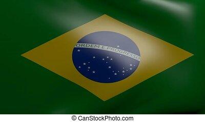 brazil strong wind flag