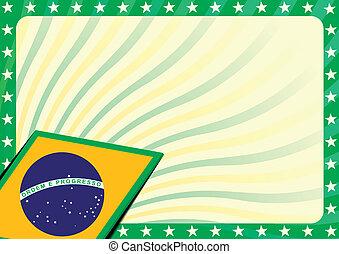braziliaanse vlag, achtergrond