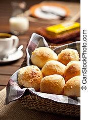 Brazilian cheese buns.