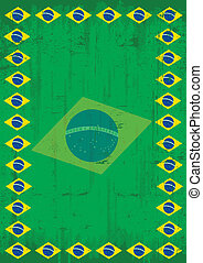 Brazilian dirty poster frame