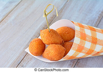 Brazilian food - Coxinhas