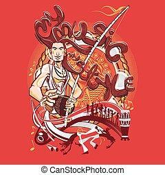 Brazilian Martial Art Capoeira My M - Brazilian Dreadlock...