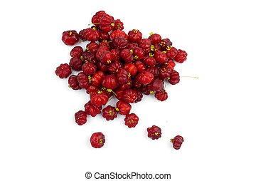 Surinam Cherry - Brazilian pitanga a.k.a. Surinam Cherry .