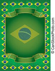 Brazilian retro frame