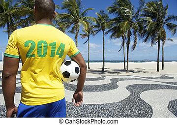 Brazilian soccer player 2014