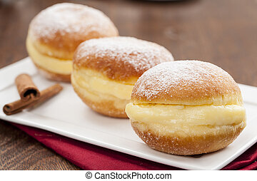 Brazilian Sonho - Sonho, a traditional pastry, made in...
