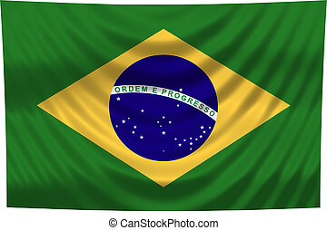 brazilie, nationale vlag