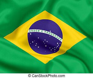 brazilie, nationale vlag