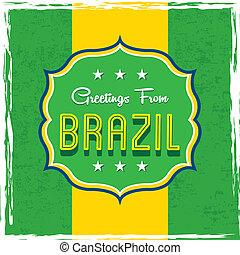 brazilie, ontwerp