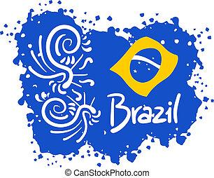 brazilie, vlek