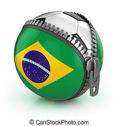 brazilie, voetbal, natie
