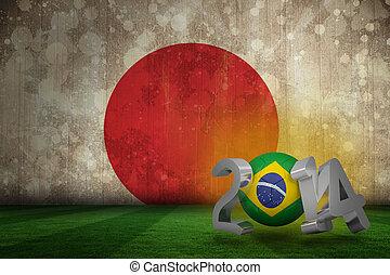 brazylia, filiżanka, 2014, świat