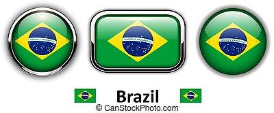 brazylia, pikolak, bandera