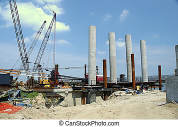Brdige Construction - Photo Of Construction Site