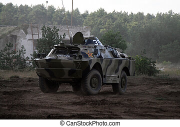 BRDM-1 - BRDM - 1, soviet armoured personnel carrier