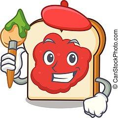 bread, πελτέs , χαρακτήρας , γελοιογραφία , καλλιτέχνηs