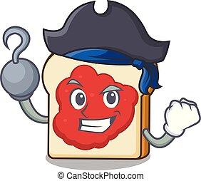 bread, πελτέs , χαρακτήρας , πειρατής , γελοιογραφία