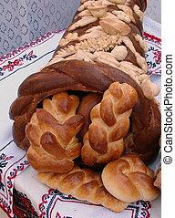 bread, ウクライナ, 角, 大いに, お祝い