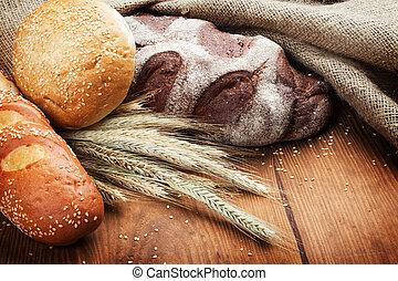 bread, 굽