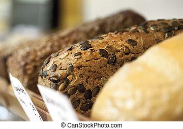 bread, alimento