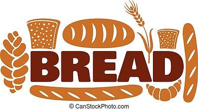 bread and bakery logo