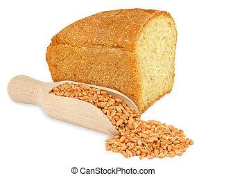 bread and grain wheat