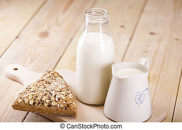 Bread and milk - Bread is one of the basic kinds of food in ...