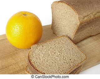 bread and orange