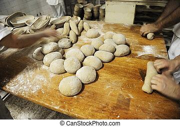 bread, gyártás