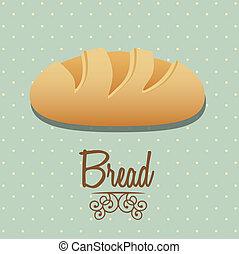 bread icon - Illustration of classic bread, bakery icon,...
