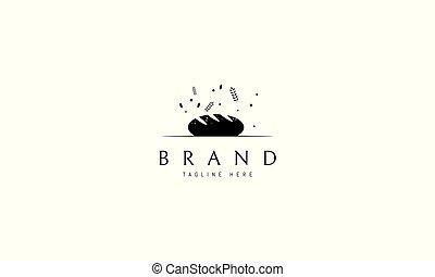 bread., imagem, logotipo, vetorial, abstratos