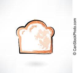 bread, kawał, grunge, ikona